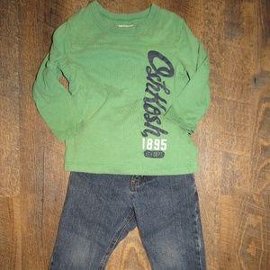 Oshkosh B'gosh toddler boy size 2T